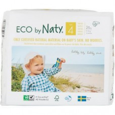 Naty Еко пелени Nature Babycare 7-18кг, 26 броя