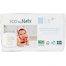 Naty Еко пелени Nature Babycare 3-6кг, 33 броя