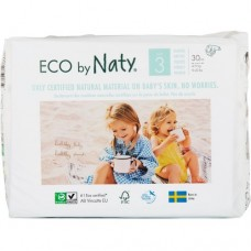 Naty Еко пелени Nature Babycare 4-9кг, 30 броя