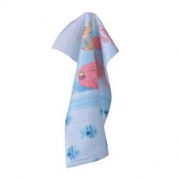 Хавлиена кърпа DF печат 30/50 - Фламинго
