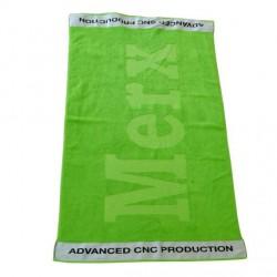 Жакардна кърпа с втъкано лого 100/180