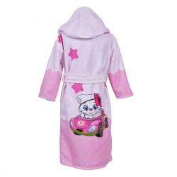 Детски халат за баня DF печат M – Малка Лейди