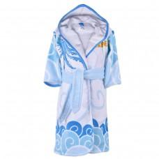 Детски халат за баня DF печат S – Морско Приключение