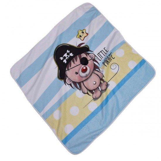 Бебешка пелена DF печат 75/75 - Малък пират