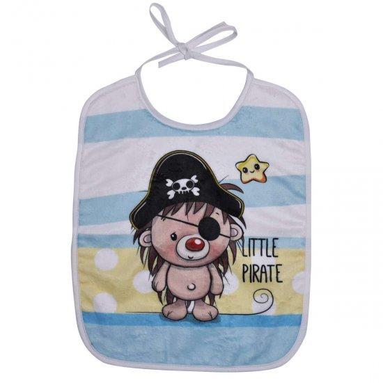 Бебешки DF лигавник с връзки - Малък пират