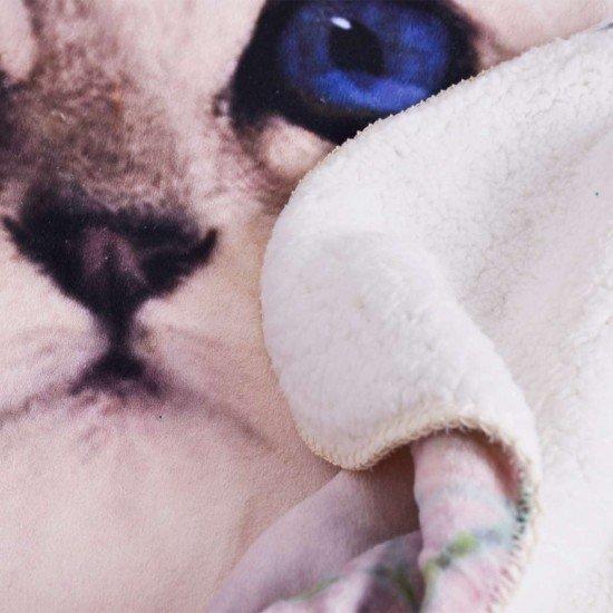 Бебешко одеало DF печат 100/150 - Коте