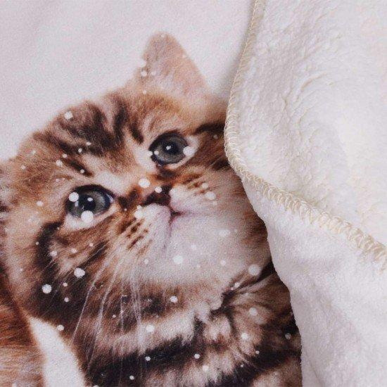 Бебешко одеало DF печат 75/120 - Две котета