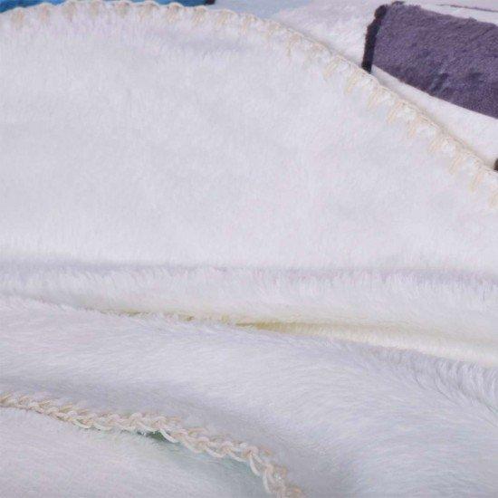 Бебешко одеало Фланел с печат 100/150 - Зебра