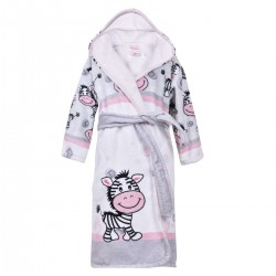 Детски халат за баня DF печат M – Моят приятел