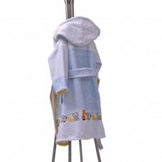 Детски халат за баня DF печат S – 300