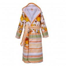 Детски халат за баня DF печат S – Ква-Ква