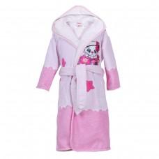 Детски халат за баня DF печат S – Малка Лейди