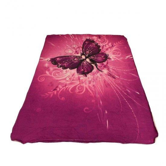 Одеяло DF печат 150/200 - Пеперуда Лила
