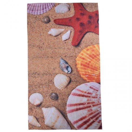 Плажна хавлиена кърпа DF печат - Коралови миди