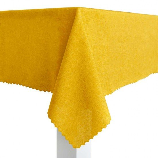 Покривка за маса Тринити 100/150 - Жълт