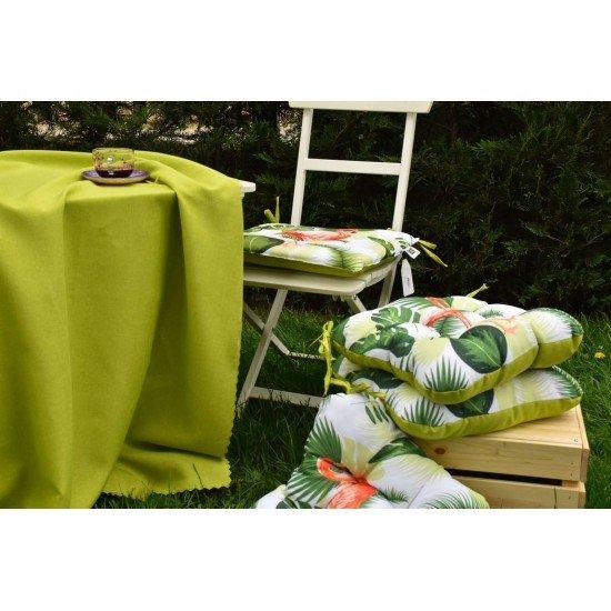 Възглавница за стол с облегалка печат 50/100 - Фламинго
