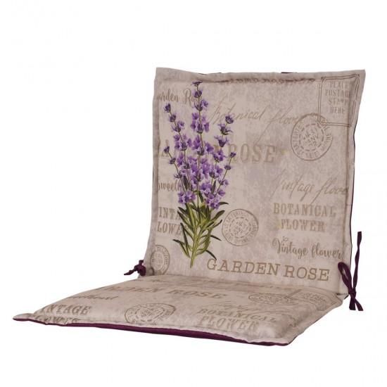 Възглавница за стол с облегалка печат 50/100 - Лавандула