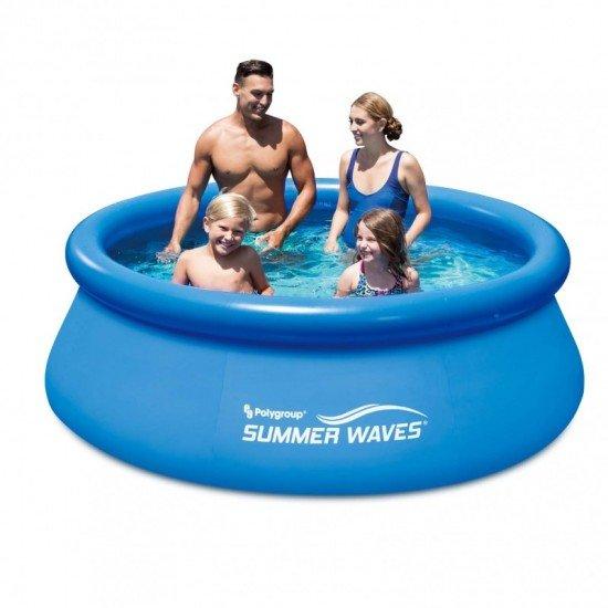 Басейн Summer Waves Quick Set 244x76см P10008300 Polygroup