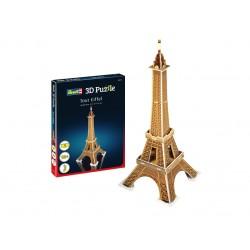 Мини пъзел 3D - Айфеловата кула