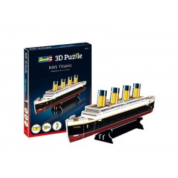 Мини пъзел 3D - RMS Титаник