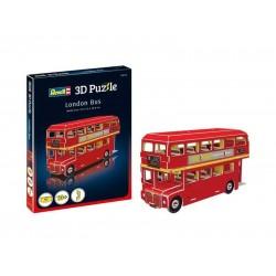 Мини пъзел 3D - Лондонски автобус