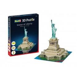 Мини пъзел 3D - Статуята на свободата