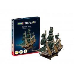 Мини пъзел 3D - Пиратски кораб