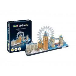 Пъзел 3D - Забележителности в Лондон