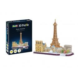 Пъзел 3D - Забележителности в Париж