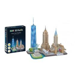 Пъзел 3D - Забележителности в Ню Йорк