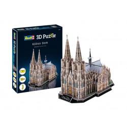 Пъзел 3D - Кьолнската катедрала