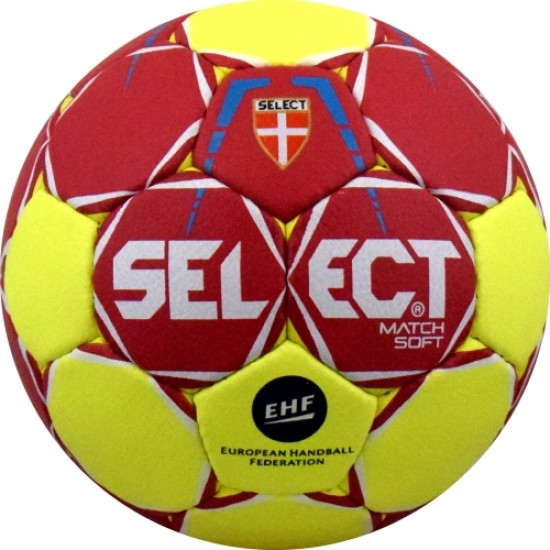 Топка хандбал SELECT Match Soft №3 b-gr.
