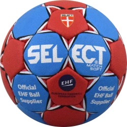 Топка хандбал SELECT Match Soft EHF №3 B-gr