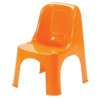 Пластмасов стол детски Премиум оранжев
