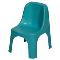 Пластмасов стол детски Премиум син