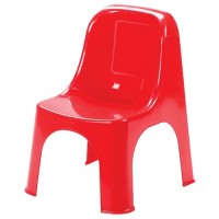 Пластмасов стол детски Премиум червен