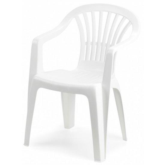 Пластмасов стол Алтея бял