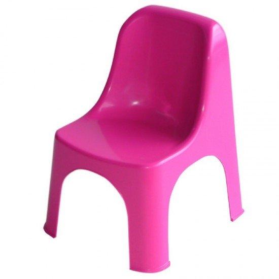 Пластмасов стол детски Премиум розов
