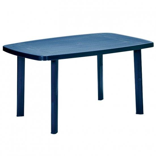 Пластмасова маса Фаро 140/90/72h - синя