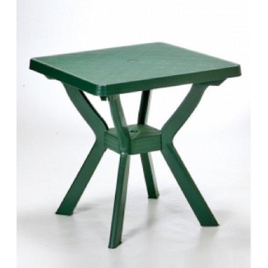 Пластмасова маса Нило 80/80/72h – зелена