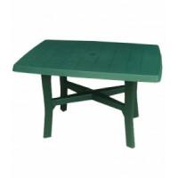 Пластмасова маса Родано 140/90/72h - зелена