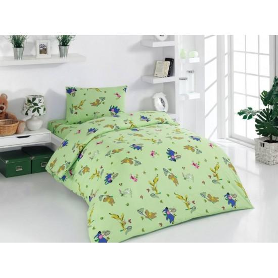 Детско спално бельо Ранфорс Мечо Пух  m3445