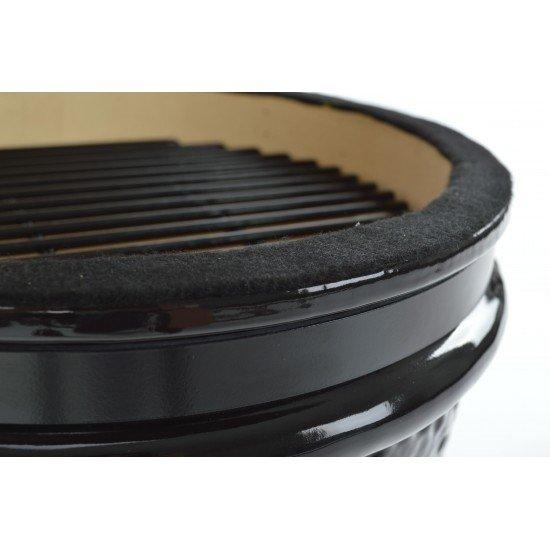 Мини Керамично барбекю КАМАДО на дървени въглища 32х57см Landmann