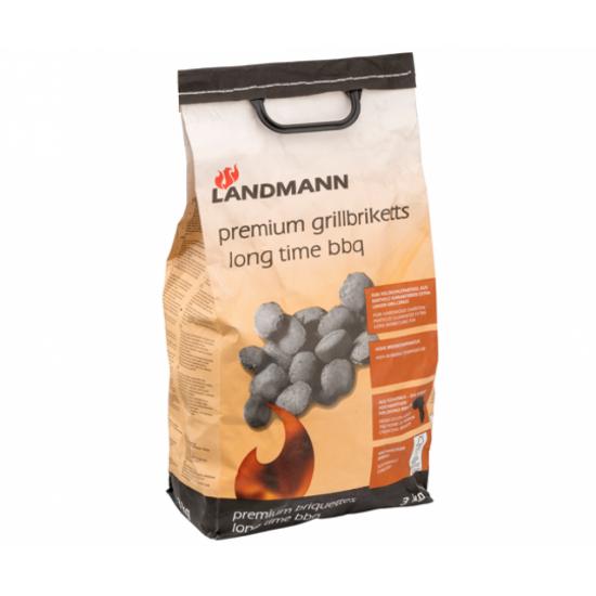Премиум брикети за барбекю 3кг Landmann