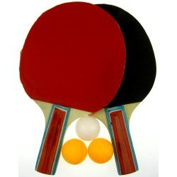 Хилки 2 броя + 3 топчета за тенис на маса MAXIMA