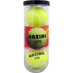 Топки за тенис на корт MAXIMA, 3 броя в кутия