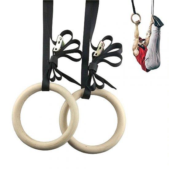 Халки за гимнастика с ремъци комплект MAXIMA (310498)