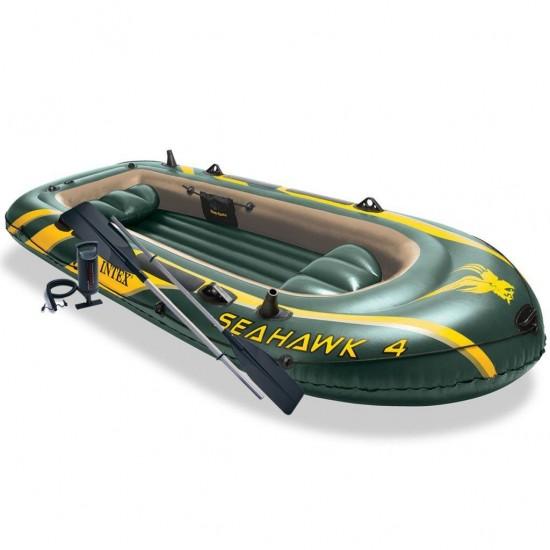 Надуваема лодка Seahawk 4 - 338x127x50 см 68351NP Intex