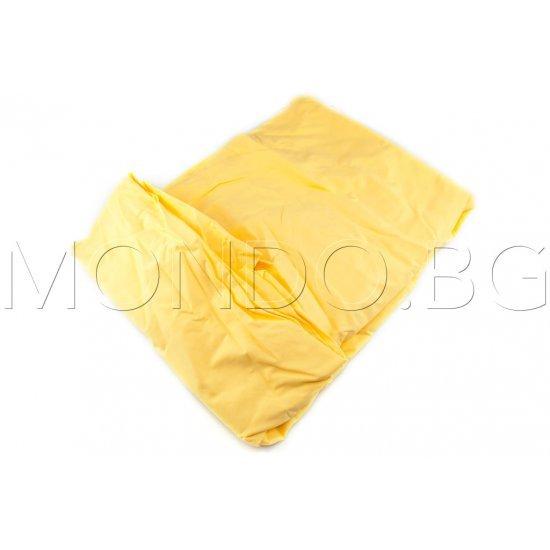Чаршаф с ластик Ранфорс - Жълт MONDO m6917