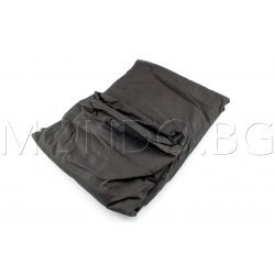 Чаршаф с ластик Ранфорс - Черен MONDO m6920